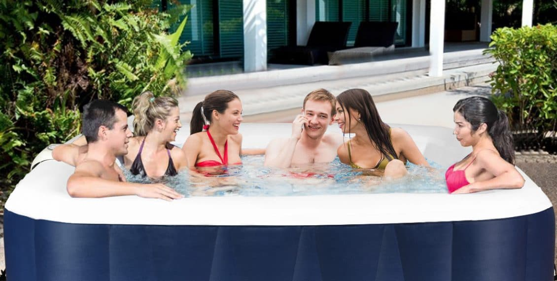 goplus inflatable hot tub review