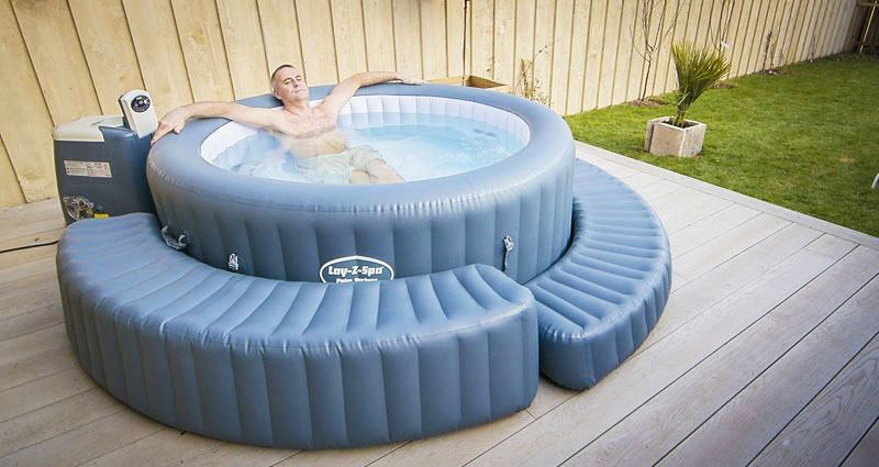 inflatable hot tub running costs