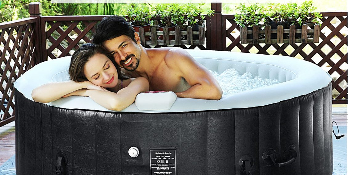 beyond marina inflatable hot tub review
