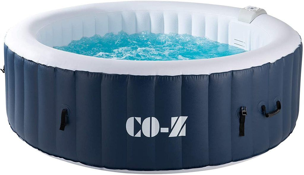 co-z inflatable hot tub